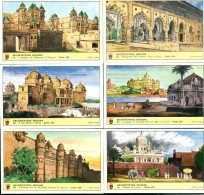 FIGURINE LAVAZZA - SERIE N . 164 - ARCHITETTURA INDIANA - Chromos