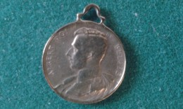 1914, Soldats Ma Place Est Parmi Vous Sur Le Champ De Bataille Nieuport, 4 Gram (med355) - Pièces écrasées (Elongated Coins)