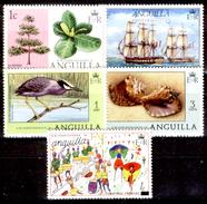 Anguilla-010 - Valori Emessi Nel  1976-1977 (++) MNH - Privi Di Difetti Occulti. - Anguilla (1968-...)