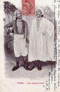 8666. CPA TUNISIE. TUNIS. LES ARABES RICHES 1904 - Tunisie