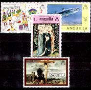 Anguilla-011 - Valori Emessi Nel  1976-1977 (++) MNH - Privi Di Difetti Occulti. - Anguilla (1968-...)