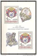 CHECOSLOVAQUIA 1980 - Yvert #H48 - MNH ** - Hojas Bloque