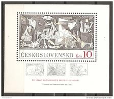 CHECOSLOVAQUIA 1981 - Yvert #H51 - MNH ** - Hojas Bloque