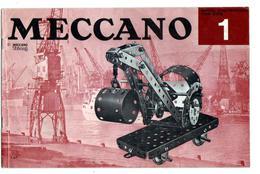 MECANO - REVUE Et GUIDE De Montage No 1de 12 Pages - Meccano