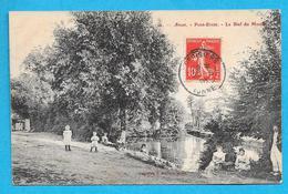 89-Arces-Pont Evrat-le Bief Du Moulin-cpa écrite 1908 - Other Municipalities