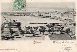 8669. CPA TUNISIE. SOUSSE. 1904 - Tunisie