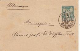 Entier Postal Cannes Alpes Maritimes Pour L'Allemagne