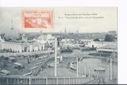1 Cpa Exposition Nantes 1904. Vue Générale D'un Coin De L'Exposition - Expositions
