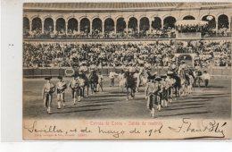 Sevilla Corrida De Toros  Salida De Cuadrilla - Sevilla