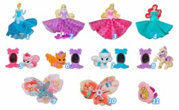 Kinder Surprise Eggs Disney Princess And Pets Palace Princesses Of Disney Toys From Egg Mini Figures Collection Toys - Diddl