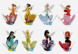Kinder Surprise Eggs Disney Fairies Tinker Bell Fairy Cartoon Of Disney Toys From Egg Mini Figures Collection Toys - Diddl