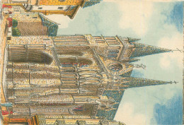 Carte Illustrateur  - Peinture  -   Vannes    Signée Barday       AA701 - Barday