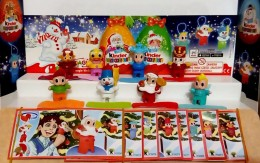 Kinder Surprise Eggs Christmas For Christmas Tree Toys From Egg Mini Figures Collection Toys !! - Diddl