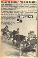 "PUB  BRITAINS  "" 1863  BATAILLE DE GETTYSBURG "" 1966 - Figurines"