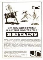 """PUB  BRITAINS """" LES CHEVALIERS D'ANTAN """" 1964 - Autres"""