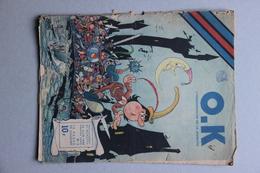 O.K. L'Hebdomadaire De La Jeunesse N°3, 15 Juin 1946 (article Boxe Marcel Cerdan) - Livres, BD, Revues