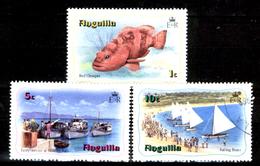 Anguilla-015 - Valori Emessi Nel  1982 (++/o) MNH/Obliterated - Privi Di Difetti Occulti. - Anguilla (1968-...)