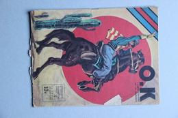 O.K. L'Hebdomadaire De La Jeunesse N°4, 1 Juillet 1946 (article Marcel Cerdan Boxe) - Livres, BD, Revues