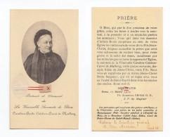 Portrait Et Vêtement De Caroline-Barbe Colchen-Carré De Malberg, Lorry-lès-Metz, Salésienne, Image Pieuse Relique - Images Religieuses