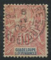 Guadeloupe (1900) N 41 (o) - Oblitérés