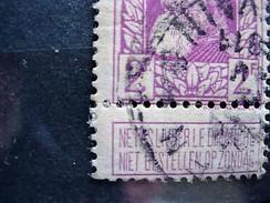 NR 80 V1 VARIETEIT GESTEMPELD - 1905 Thick Beard