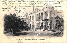 [DC3553] CPA - ALGERIA - MUSTAPHA PALAIS D'ETE DU GOUVERNEUR - Viaggiata 1903 - Old Postcard - Algeri