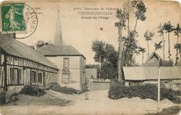 THEROULDEVILLE ENTREE DU VILLAGE ENVIRONS DE VALMONT - Valmont