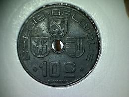 Belgique 10 Centimes 1944 VL - 02. 10 Centimes