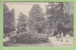 BELFORT : Le Square Du Faubourg De Montbéliard ( Jardinier Et Enfants) . 2 Scans. Edition Marlin - Belfort - Città