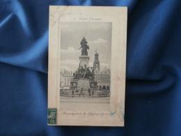 Saint Quentin  Monument De La Défense De 1557 - Animée : Enfants - Carte Cuvette- N° 7 - Circulée 1910 - L278A - Saint Quentin