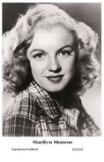 MARILYN MONROE - Film Star Pin Up PHOTO POSTCARD- Publisher Swiftsure 2000 (201/559) - Non Classés