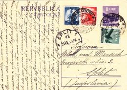 Cartolina Postale 1948 - Interi Postali