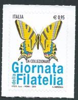 Italia, Italy, Italie, Italien 2016; Farfalla, Butterfly, Papillon Macaon . - Papillons