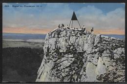 CPA - Non Voyagée - Signal Du Chasseron - VD Vaud