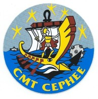 163 - MARINE NATIONALE - AUTOCOLLANT  - CHASSEUR DE MINES CEPHEE - Stickers