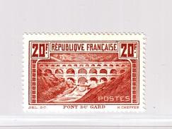 """FRANCE """"Le Pont Du Gard"""" Y&T 262 - Neuf * - France"""
