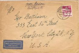 19877. Carta Aerea BRAUNSWEIG (Alemania Zona Americana Y Britanica) 1948 - Zona Anglo-Américan