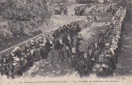 CPA. NOCE BRETONNE AU PAYS DE CORNOUAILLES. Vue D'ensemble Du Féstin 1800 Personnes. - Sin Clasificación