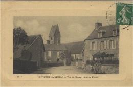 ST-PIERRE-LA-VIEILLE (14) - Vue Du Bourg, Route De Condé - Ed. Th. V. - Frankreich
