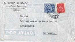 19881. Carta Aerea  Comercial LISBOA RESTAURADORES (Portugal) 1961. Export-import - 1910-... República
