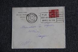Enveloppe Publicitaire - BEZIERS - Ecole Libre De La Trinité - Lettres & Documents