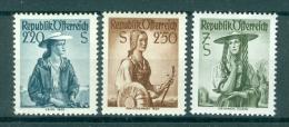 AUSTRIA - Mi Nr 978/980 - MNH** - Cote 15,00 € - 1945-60 Ongebruikt