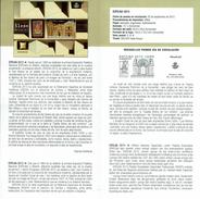 Exposition Philatélique EXFILNA - LION LEON - DOCUMENT INSTRUCTIF DE L´ÉMISSION DE TIMBRE ESPAGNE - Sin Clasificación