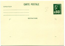 Entier Postal Neuf Marianne De Béquet - Yvert 1814-CP1 - R 2464 - Zonder Classificatie