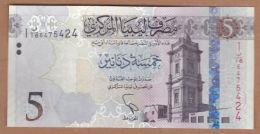 AC -  LIBYA - 5 DINARS UNCIRCULATED - Libye
