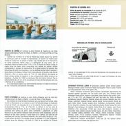 PONT DE TOLEDO MADRID - DOCUMENT INSTRUCTIF DE L´ÉMISSION DE TIMBRE ESPAGNE - España