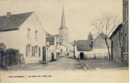 Fall-M´Heer Riemst La Rue De L´Eglise 1907 - Riemst