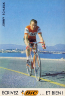 CYCLISME - Johny SCHLECK - Autres Collections