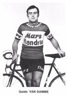 CYCLISME - Guido VAN DAMME - Autres Collections