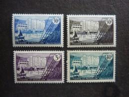 SAINT PIERRE Et MIQUELON, Année 1955-56, YT N° 348 à 351 Neufs - Ongebruikt